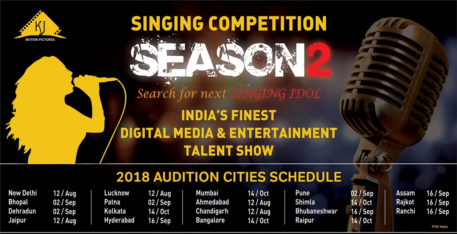 Singing Competition | Season-2 | Auditions | 2018 | KJ